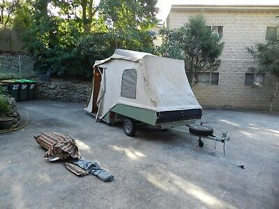 Cub Camper Kamparoo folding hard floor - ready for use with NSW rego and annex