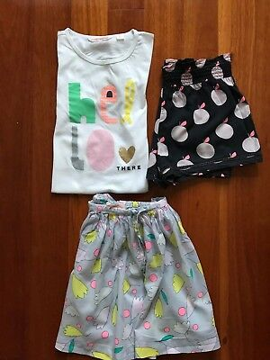 COUNTRY ROAD tee, skirt & shorts, Girls Size 7 Years, VERY GOOD COND