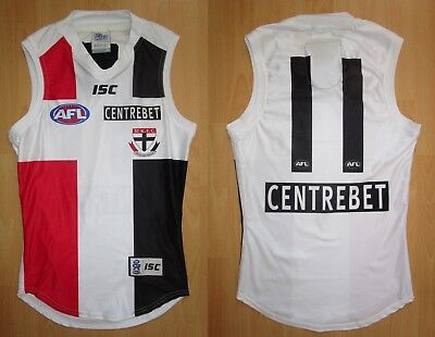 L.Montagna Player Issue / Match Worn St Kilda Guernsey Jumper Jersey Un Signed