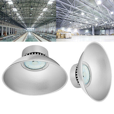 2X 50W LED High Bay Light Lamp Lighting Warehouse Factory Industry Shed Roof