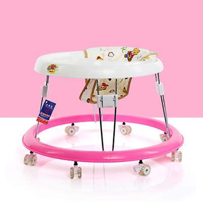 NEW Baby Adjustable Height Walker First Steps Activity Toy lightweight