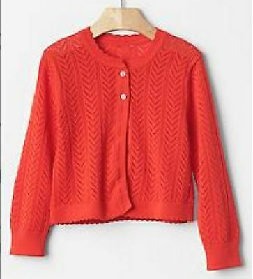 BABY GAP GIRL CABLE PEPLUM CARDIGAN NWT 18-24 3-6 6-12 months NNN