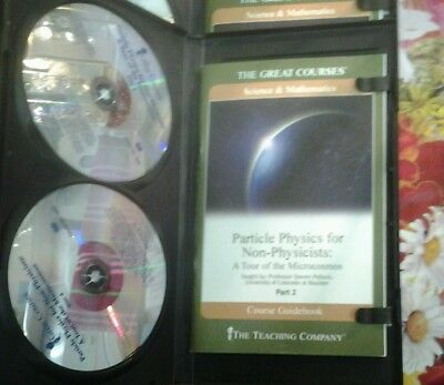 The Great Courses.Particle Physics for Non-Physicists:A Tour of the Microcosmos.