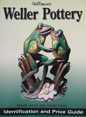 WELLER POTTERY PRICE GUIDE COLLECTOR BOOK Color Pictures New Condition
