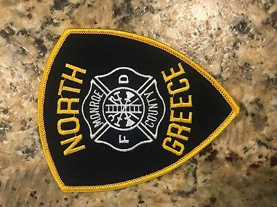 North Greece Fire Department Patch and Sticker Decal