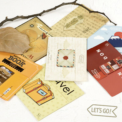 1pc Paper+Metal Magnetic Bookmarks Note Memo Stationery For Great Readers