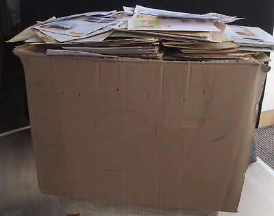 Huge Box Of Germany Covers - 4/5000+