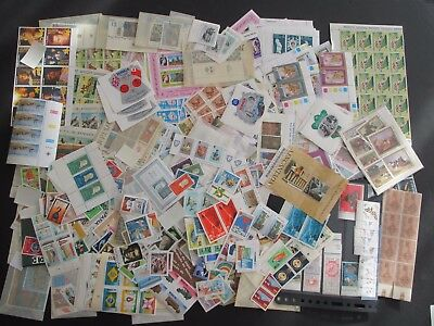 Superb Collection Of Global Mnh Stamps And Mini Sheets In File - 2000+