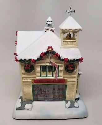 "Hawthorn Village ""VILLAGE FIREHOUSE"" Norman Rockwells Christmas Collection"