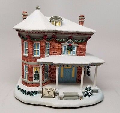 "Hawthorn Village ""DOCTORS OFFICE"" Norman Rockwell Christmas Village Collection"