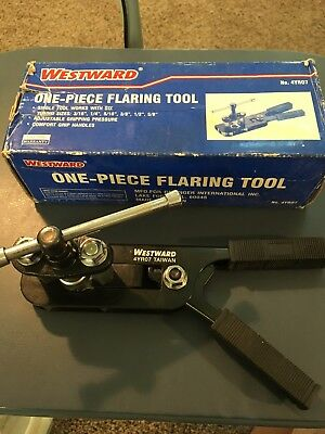 """Westward All in One Flaring Tool for 3/16"""" - 5/8"""" Tubing in Perfect Condition"""