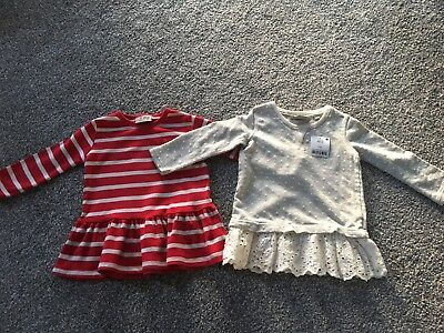 Bnwt Next Tunic Tops Age 12-18 Months