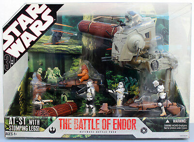 Star Wars Ultimate Battle Of Endor Battle Pack 30Th Anniversary Collection