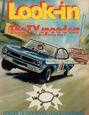 LOOK IN MAGAZINE. ISSUE 30. 22nd July 1972. Arthur English.