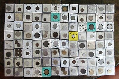115 Old Italy Coins From Retired Dealer Inventory (See Pictures) No Reserve