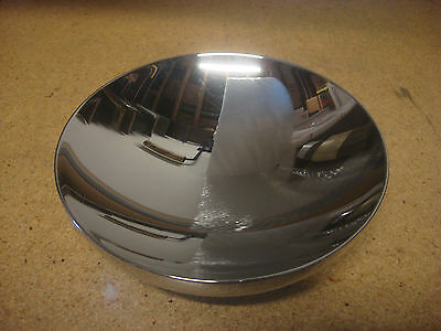 """2002 Alessi 18/10 Stainless Steel 8"""" Double Bowl D'urbino Lomazzi Italy"""