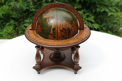 Vintage Desk Globe  Astrology Signs Made in Italy
