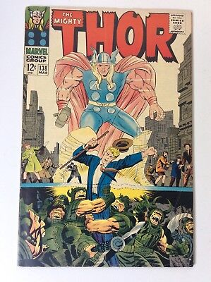 THE MIGHTY THOR  #138 1967 AVENGERS etc