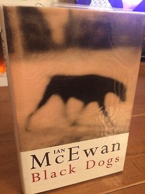 black dogs book by ian mcewan SIGNED 1st EDITION 1992 fine condition