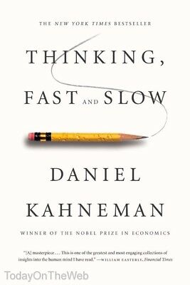 Thinking, Fast and Slow (New Paperback) by Daniel Kahneman