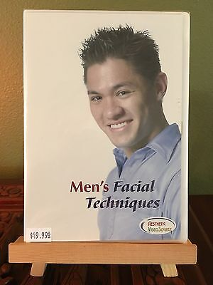 ~NEW SEALED~ Aesthetic Video Source DVD Rita Page Men's Facial Techniques