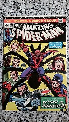 The Amazing Spider-man #135 - 2nd Appearance of The Punisher
