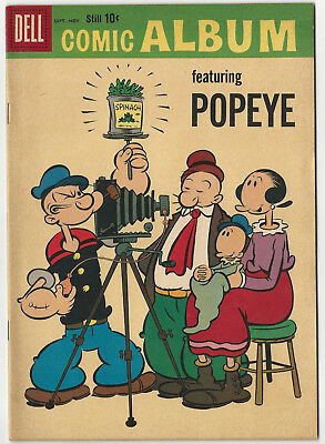 Dell's COMIC ALBUM #7 - Sept-Nov 1959 - Popeye