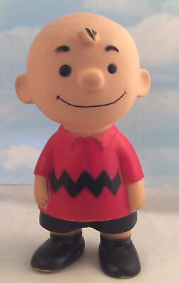 1958 Charlie Brown Peanuts Hungerford United Features Syndicate Vinyl Doll