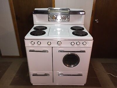 ANTIQUE VINTAGE SupreMacy 3 Oven GAS Stove Range EXCELLENT CONDITION works great