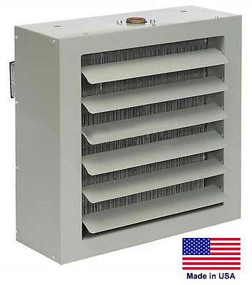 UNIT HEATER - STEAM & HOT WATER Commercial - Fan Forced - 165,000 BTU - 115 Volt