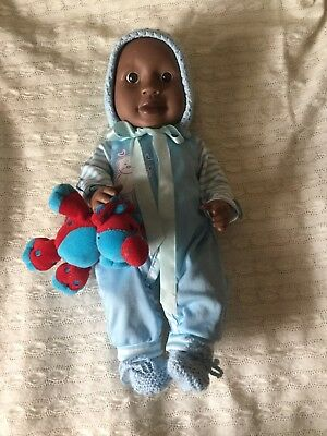 Peterkin Brown Boy Doll