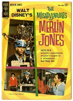 Misadventures of Merlin Jones #nn NM- 9.2 ow/white pages  Photo Cover  GK  1964
