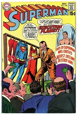 Superman #228 VF/NM 9.0 white pages  DC  1970  No Reserve