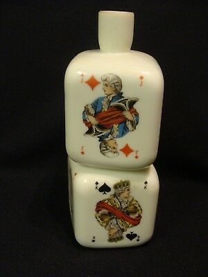 Opaque White Playing Cards Bottle