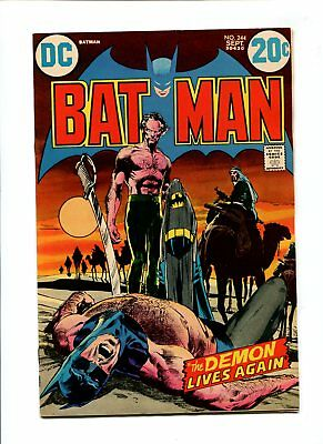 Batman #244 NM- 9.2 HIGH GRADE DC Comic Detective Ra's al Ghul Adams Art Bronze