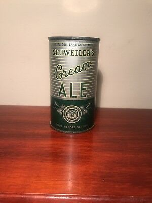Nice Neuweilers Cream Ale OI  Long Opener 12 oz Beer Can