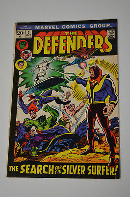 The Defenders #2 October 1972 Marvel