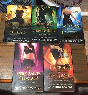 Night Tracker Series By CHEYENNE MCCRAY. Demons. Werewolves. Vampires. Zombies.