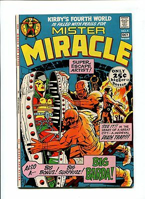 Mister Miracle #4 NM- 9.2 HIGH GRADE DC Comic Jack Kirby Art VINTAGE Silver 15c