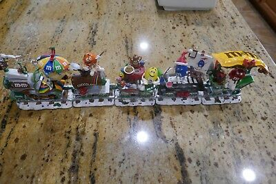 Danbury Mint M&M Holiday Express Train M&M's Christmas Collectible