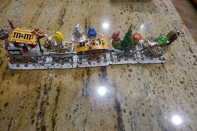 Danbury Mint M&M Christmas Train M&M's Holiday Collectible
