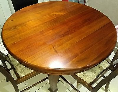 Blackwood dining table (approx c1920)