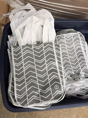 Lot of 50 NEW Reusable Shopping Tote Bags ,GREAT DEAL!