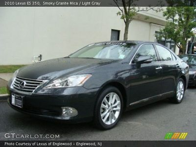 2010 Lexus ES 350  Lexus ES 350 4DR LUXURY SEDAN ONE OWNER WELL MAINTAINED