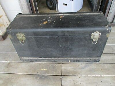 Rare/Vintage 1920s Excelsior Car Luggage Storage Trunk Stamford Conn. USA Made