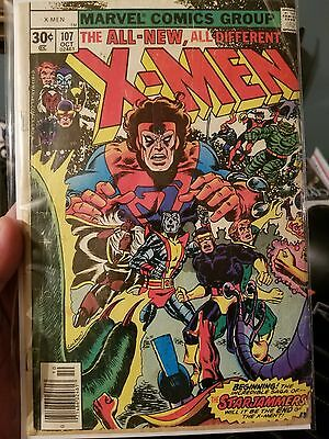 Uncanny X-Men #107 (1977 Marvel Comics) 1st appearance Starjammers