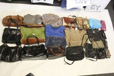 Wholesale Purse Lot USED Bulk Rehab Resale Coach Dooney Michael Kors Fossil cPkM