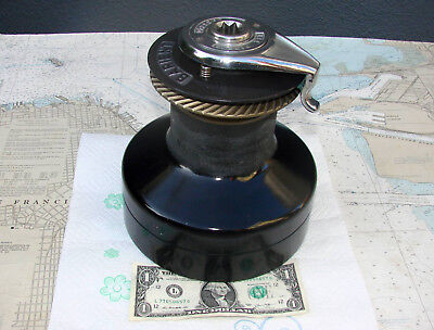 Barient No 27 TWO SPEED SELF TAILING WINCH-Many Photos-SUPER HD-POWERFUL-L@@K !!