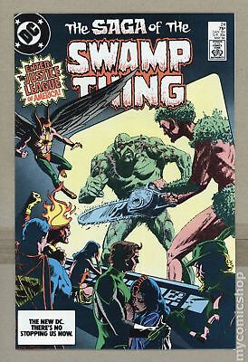 Swamp Thing (1982 2nd Series) #24 VF 8.0