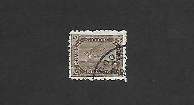 Cook Island Stamp #16 (Used) From 1898-1900.